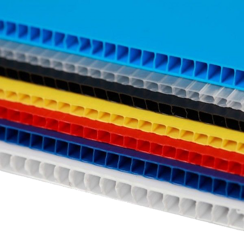 4mm Corrugated plastic sheets: 14 x 22 :10 Pack 100% Virgin White