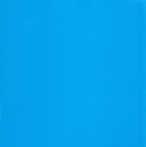 4mm Corrugated plastic sheets: 24 X 48 : 100% Virgin Neon Blue Pad : Single pc