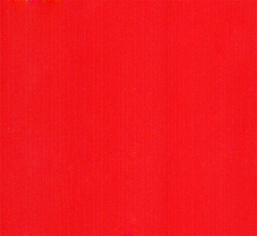 4mm Corrugated plastic sheets: 24 X 48 : 100% Virgin Neon Red Pad : Single pc
