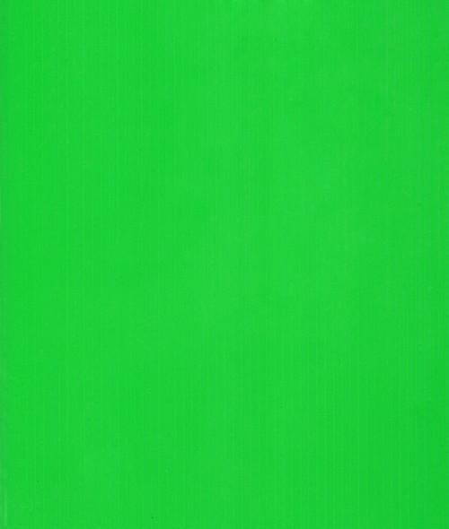 4mm Corrugated plastic sheets: 24 X 36 : 100%  Virgin Neon  Green Pad  :  Single pc