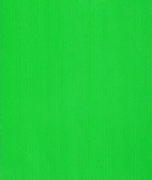 4mm Corrugated plastic sheets: 24 X 24 : 100% Neon Green Pad  :  Single pc