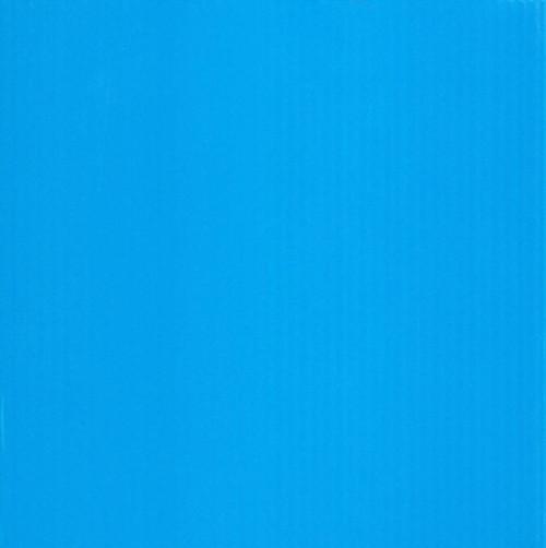 4mm Corrugated plastic sheets: 20 X 20 : 100% Virgin Neon Blue Pad  :  Single pc