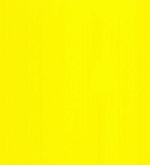 4mm Corrugated plastic sheets: 12 x 18 :100% Virgin Neon Yellow: Pad  :  Single pc