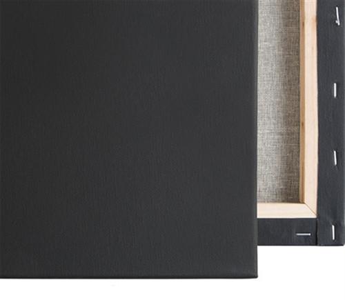 "Economy Stretched Canvas : 16 X  20  Box of 20 : 5/8"" Econo Black"