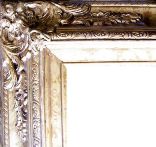 "4"" Ornate Wood Frames: 27X40"
