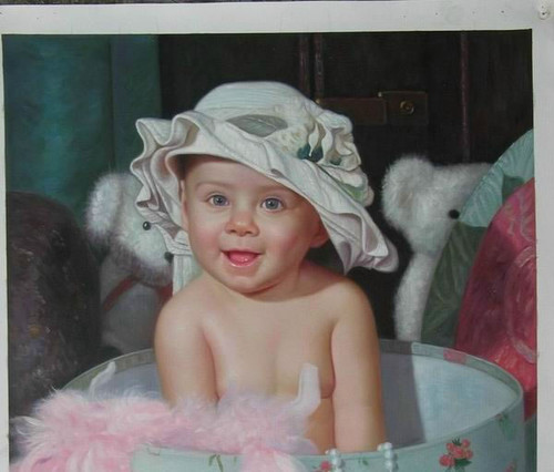 Custom Made Portraits - 1 Person:30X40