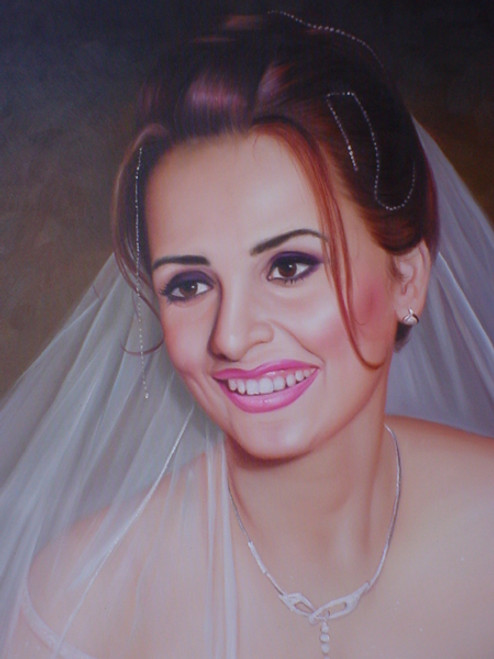 Custom Made Portraits - 4 Persons:30X40