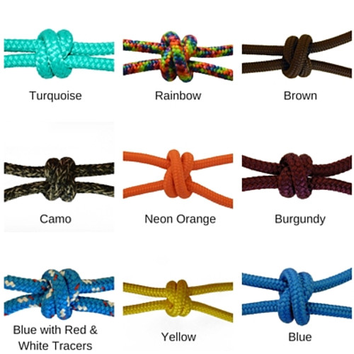 Double Braid Polyester Colors - Yacht Rope 1/4""