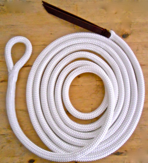 White Lead Rope - Shown here loop only