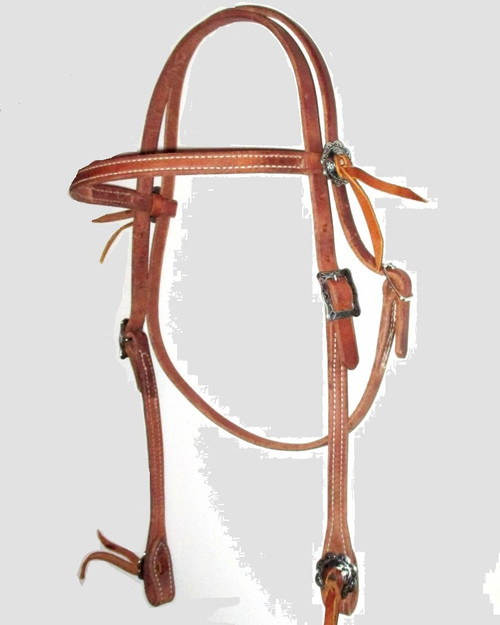Hermann Oak Headstall