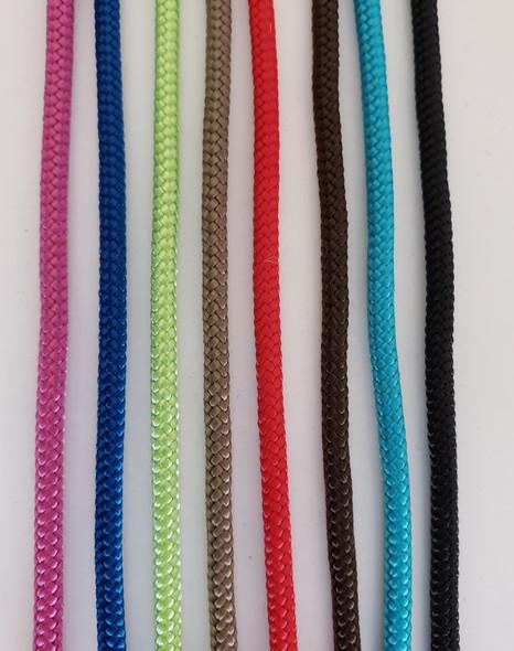 Noseband Colors (Left to Right) Rasberry, Blue, Lime, Jute, Red, Brown, Aqua, Black