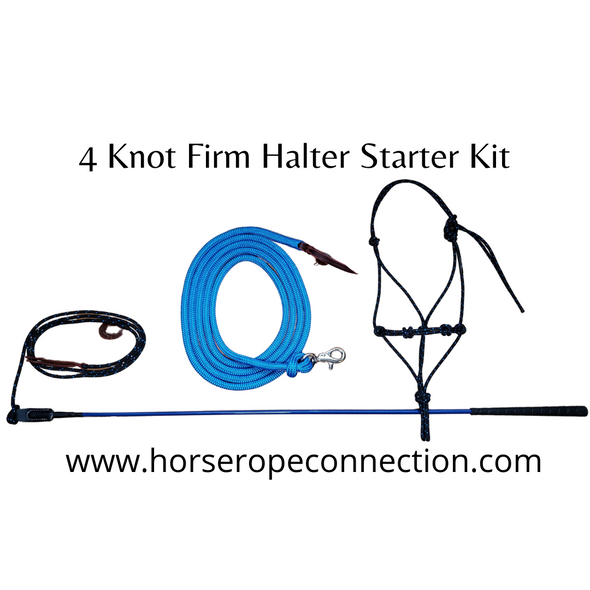 4 Knot Firm Halter Starter Training Kit
