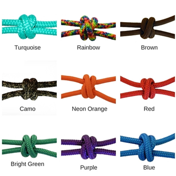 "Firm Halter Cord 1/4"" Color Choices"
