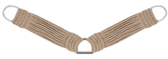 27 Strand Mohair Breast Collar - No Leather Straps