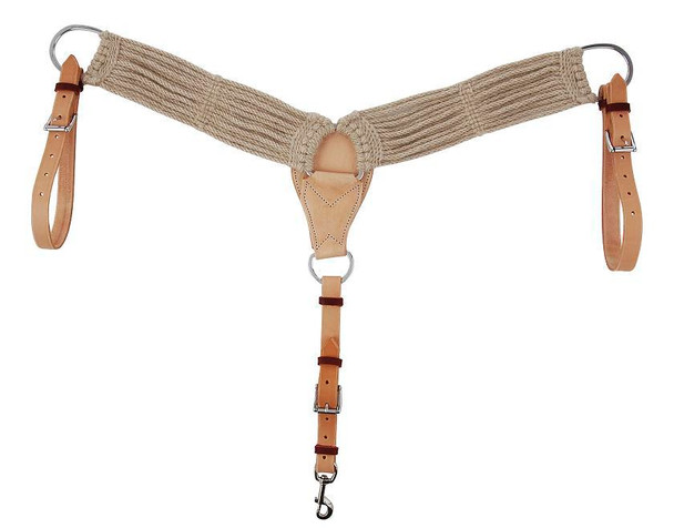 13 Strand Mohair Breast Collar