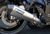 "CT Single Full System w/ 16"" QuietKore Muffler Hayabusa (08-19)"