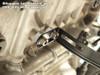 """ShortMeg 2 Full System Black 14"""" Muffler Hayabusa (99-19)"""