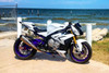 "CT Single Full System w/ 16"" Muffler S1000RR (15-18) and S1000R (15-18)"