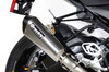 "CT Single Full System w/ 16"" QuietKore Muffler S1000RR (15-18) and S1000R (15-18)"