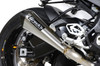 "CT Megaphone Full System w/ 17"" Muffler S1000RR (15-18) and S1000R (15-18)"