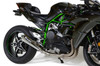 "Alien Head 2 Full System Natural 14"" Muffler Ninja H2 (15-19)"