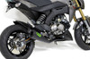 "Alien Head 2 Full System Black Cerakote® 12"" Muffler Z125 Pro (17-19)"