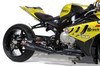 """*Sidewinder Full System Black 14"""" Muffler S1000RR (10-18) and S1000R (10-18)"""