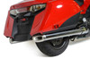 Slip-On System w/ Polished Stainless Muffler Gold Wing (12-17)