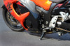Billet Adjustable BrockSTAND Black Track Style Hayabusa (99-20)