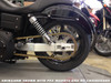"Street-Pro Aluminum Swingarm (Natural) 0-3"" Over w/ Spherical Bearings and Chain Guard for Harley-Davidson Dyna (00-17)"