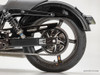 "Street-Pro Aluminum Swingarm (Black) 0-3"" Over w/ Spherical Bearings and Chain Guard for Harley-Davidson Dyna (00-17)"