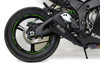 Single Alien Head Slip-On (3/4 System) Black ZX-10R (16-20)