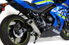 "ShortMeg 2 Full System 14"" Muffler GSX-R1000 and GSX-R1000R (17-18)"