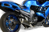 Predator Full System - Stainless Front Section w/ Electro-Black Muffler ZX-14R (12-20)