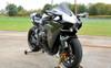 Slash Cut Full System  w/ Tapered Muffler Black Cerakote®  Ninja H2 (15-19)