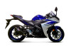 Termignoni Force Stainless/Carbon YZF-R3 (15-19)