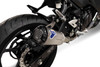 Termignoni SO-02 Slip-On Titanium Sleeve with Black Aluminum End Cap  Ninja 400/Z400 (18- )
