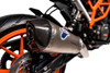 Termignoni SO-01 Slip-On Titanium Sleeve w/ Carbon End Cap  KTM 390 Duke (17-19)