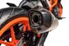 Termignoni SO-01 Slip-On Titanium Sleeve w/ Carbon End Cap  KTM 390 Duke (17-19)