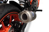 Termignoni SO-05 Slip-On GP Classic Stainless w/ Carbon Muffler KTM 390 Duke (17-19)