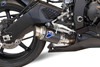 Termignoni SO-05 Slip-On GP Classic Stainless w/ Carbon Muffler Yamaha R6 (06-19)