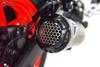 Termignoni SO-02 Slip-On Titanium Sleeve with Black Aluminum End Cap Yamaha R3/MT03 (15-19)