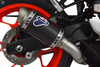 Termignoni SO-05 Slip-On GP Classic Stainless w/ Carbon Muffler Yamaha R3/MT03 (15-19)