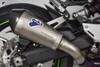 Termignoni Slip-On SO-01 Titanium Sleeve w/ Carbon End Cap Kawasaki Z900 (17-19)