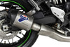 Termignoni SO-04 Slip-On Cylindrical Titanium Sleeve with Carbon End Cap Kawasaki Z900RS (18-19)