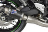 Termignoni SO-05 Slip-On GP Classic Stainless w/ Carbon Muffler Kawasaki Z900RS (18-20)