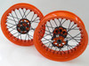 Rear Kineo Wire Spoked Wheel 6.0 x 17.0 Scrambler 800 (15-18)/Cafe Racer and Icon 800 (18-20)/1100/1100 Pro/1100 Sport Pro