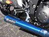 "TiWinder Blue Full System w/ 18"" Muffler Street Baffle ZX-14 (06-19)"