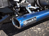 "TiWinder Blue Full System w/ 18"" Muffler Race Baffle ZX-14 (06-19)"