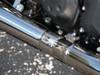 "TiWinder Polished Full System w/ 18"" Muffler Race Baffle ZX-14 (06-19)"